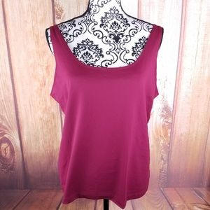 Chico's Red Camisole Tank Top
